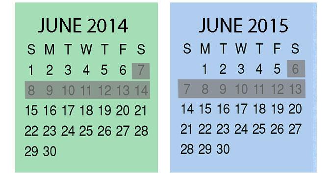 2012/2013 Calendar
