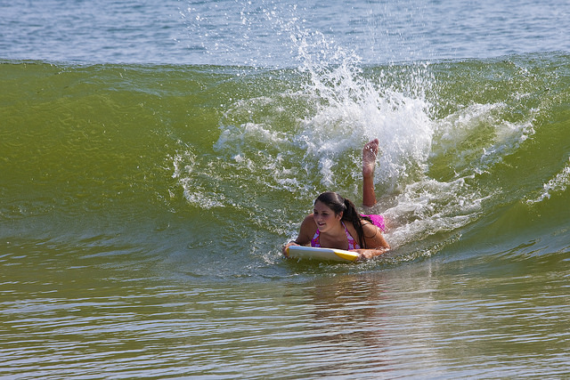 Outer Banks Bodyboarder