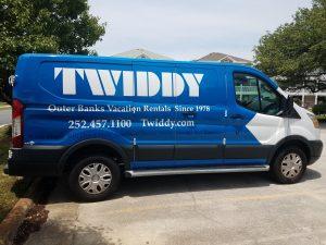 Twiddy Maintenance Van