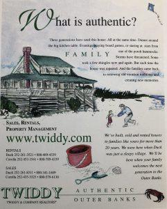 Twiddy Ad 1998