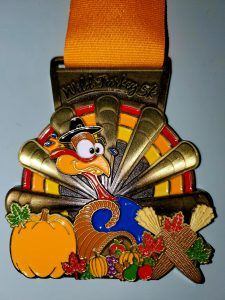 Thanksgiving Race Medal