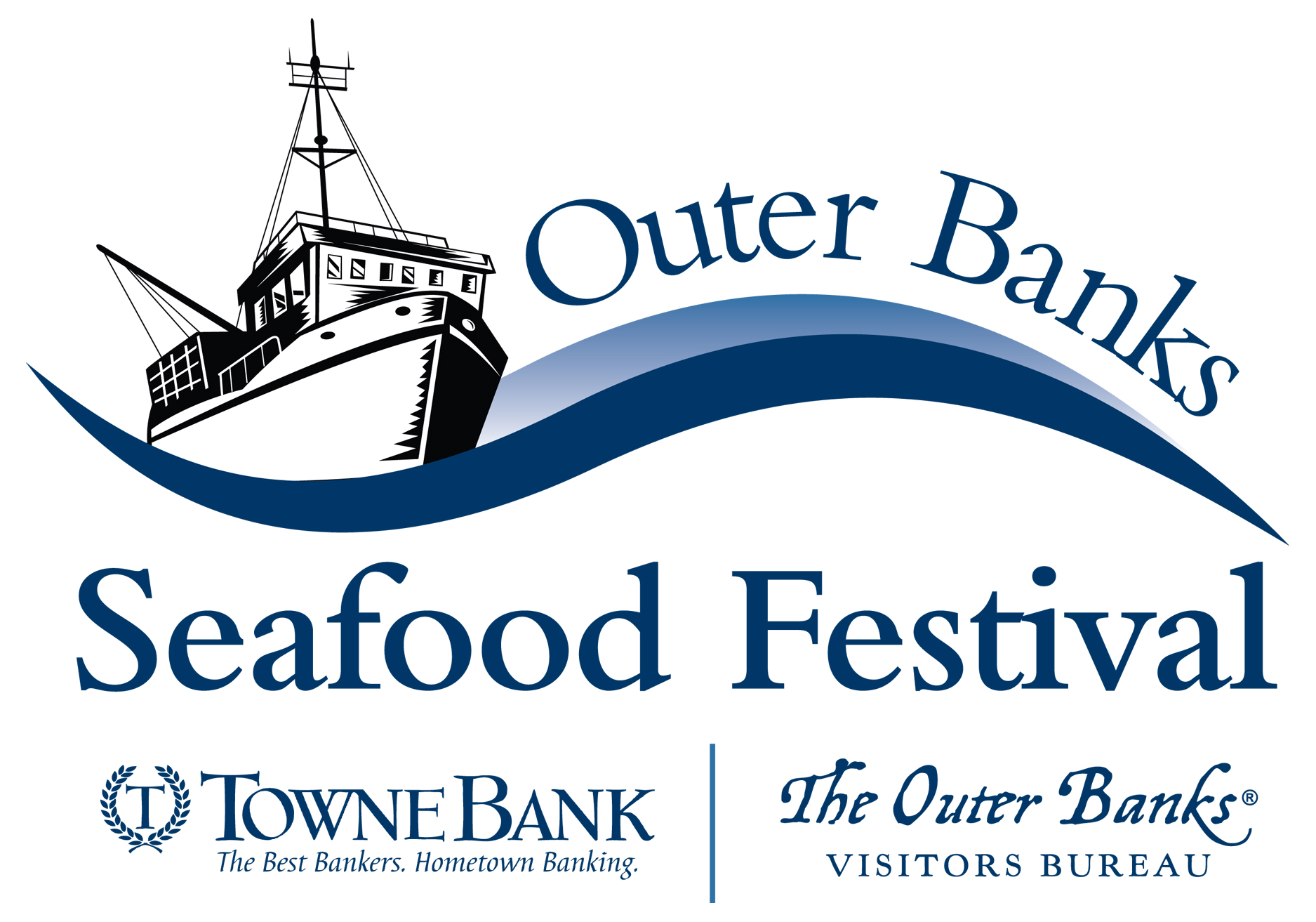 outer banks seafood festival flyer