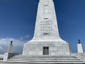 Wright Brothers Memorial in December