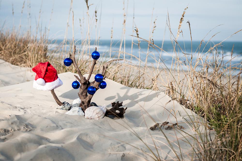 OBX Beach Christmas