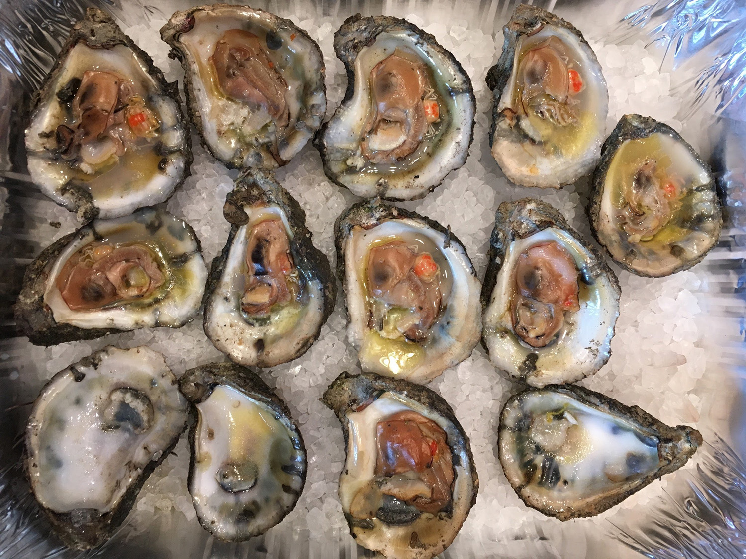 crab slough oysters