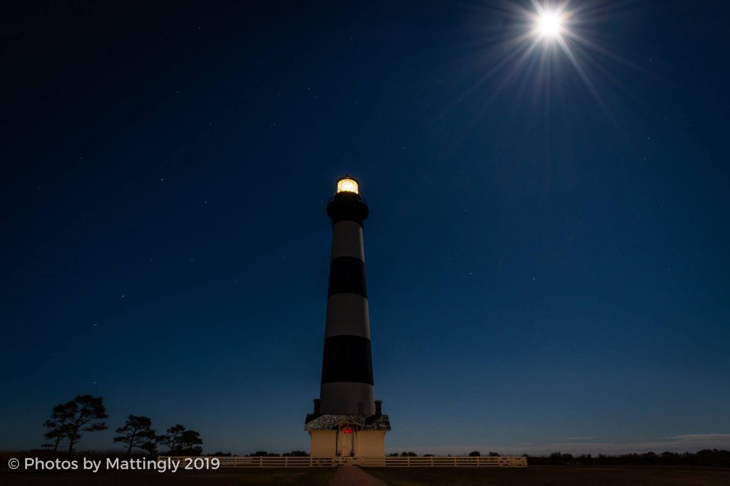 Super Blood Wolf Moon Bodie Island Lighthouse