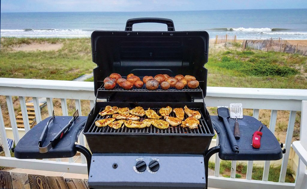 grill by the ocean