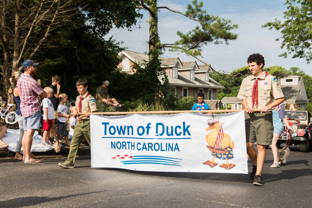 Duck 4th of July Parade