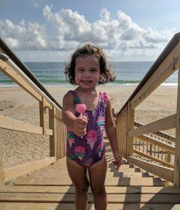 Lollipop on Beach