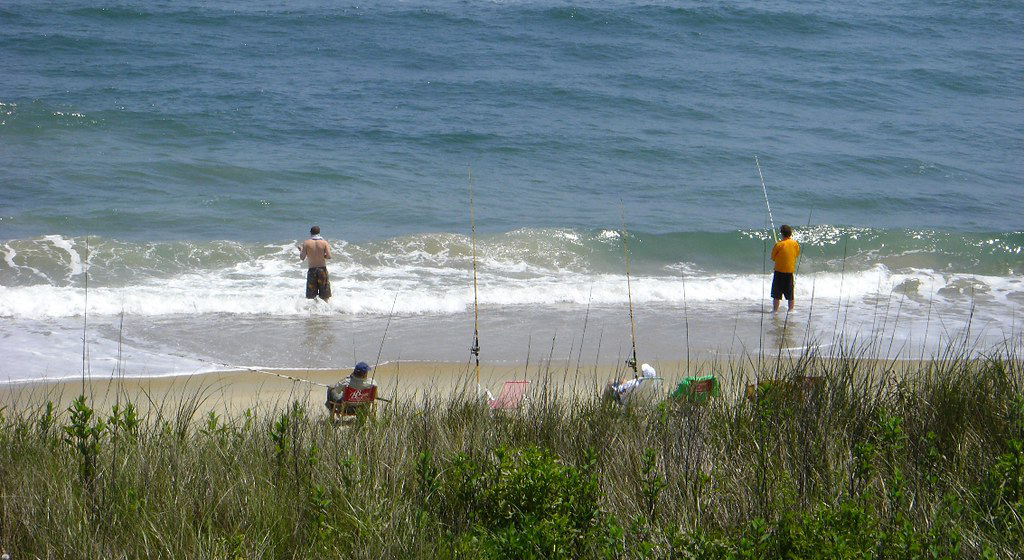 obx surf fishing