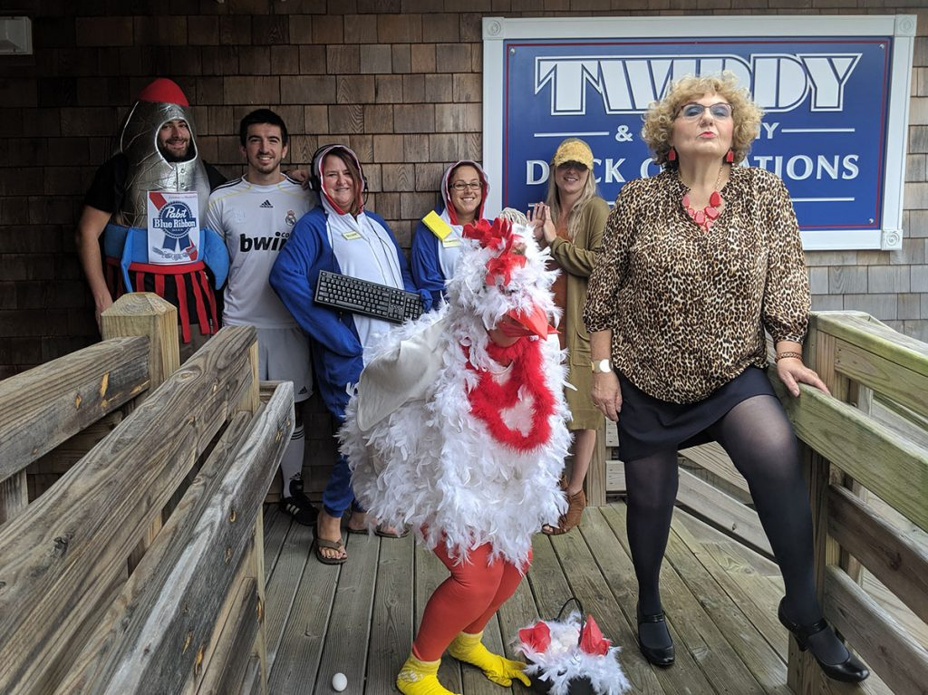 Twiddy Duck Operations Halloween 2019