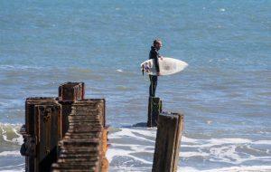 surfer jetty