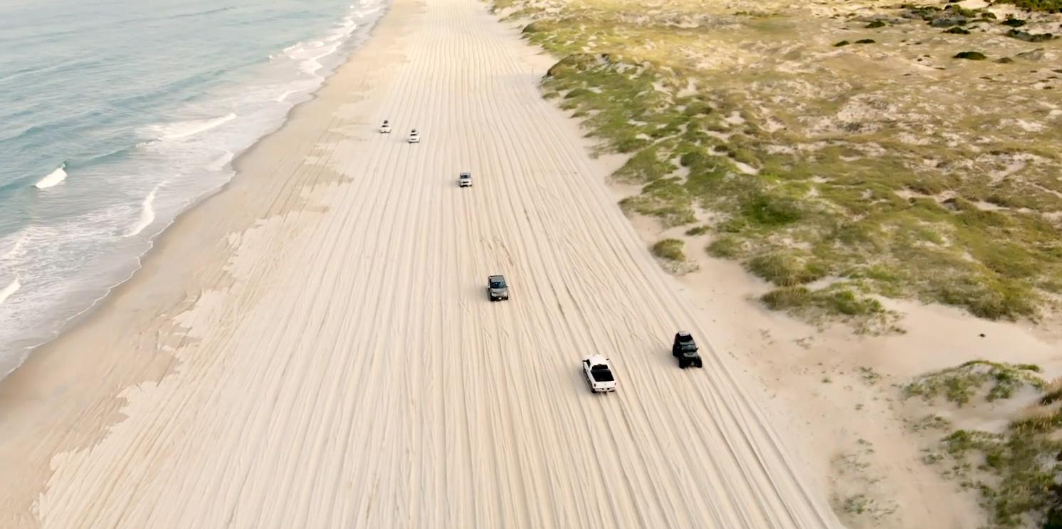 4x4 beach driving