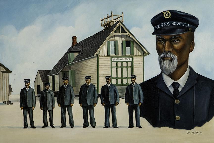 Etheridge and Pea Island crew
