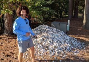 Ryan Bethea oyster pile