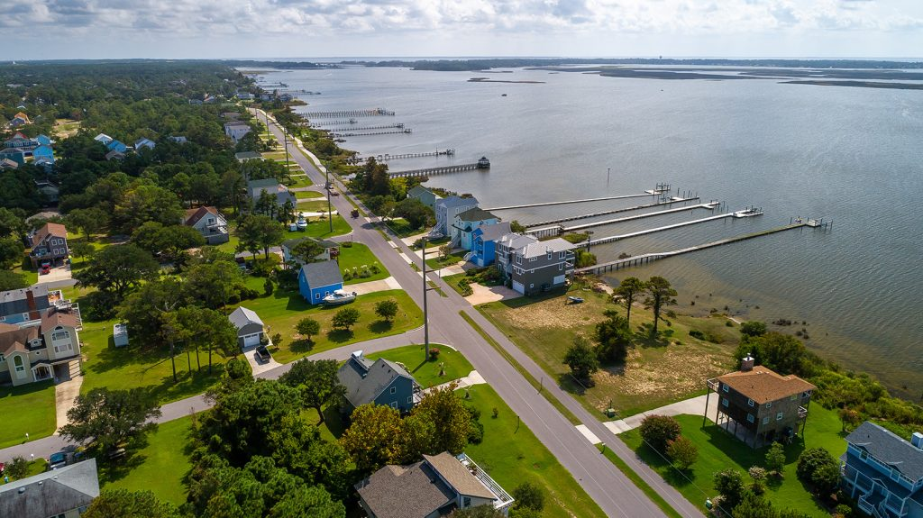 Bay Drive Aerial