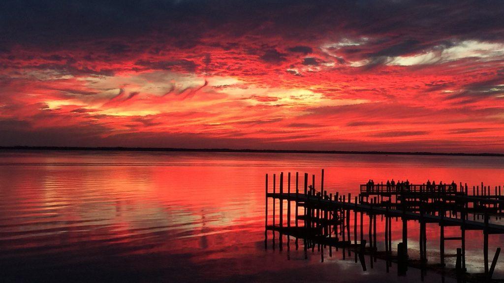 Bay Drive Sunset
