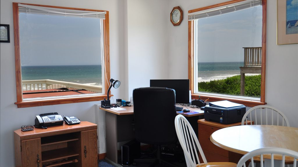 work remotely from the beach J10997 Office