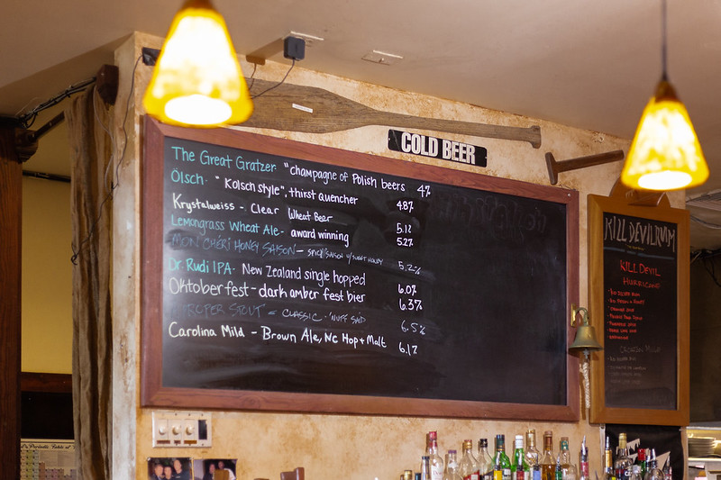 Outer Banks Brewing Station Beer List