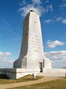 Wright Brothers memorial off-season visit