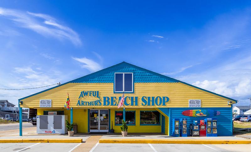 Awful Arthur's Beach Shop
