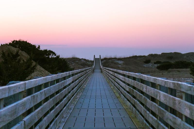 Ocracoke Lifeguarded beach