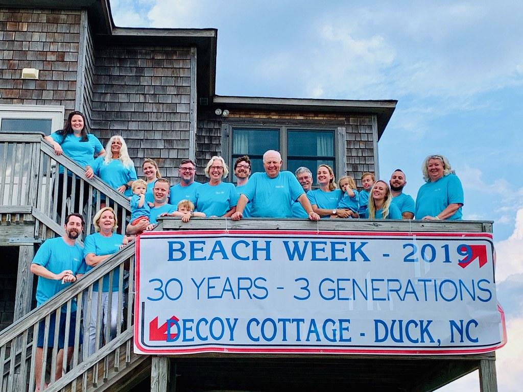 decoy cottage family same place