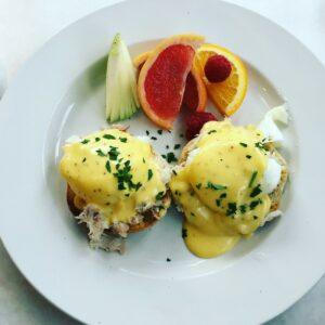 Saltbox eggs benedict