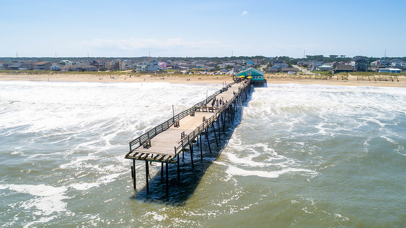Hurricane Dorian Avalon Pier damage