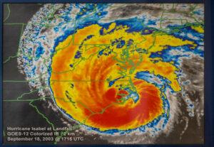 Hurricane Isabel OBX radar
