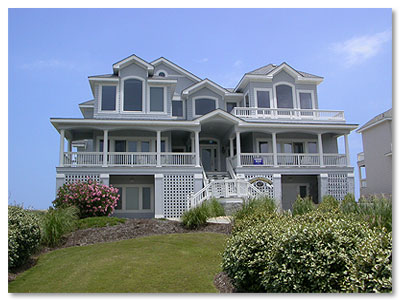 corolla beach house rentals