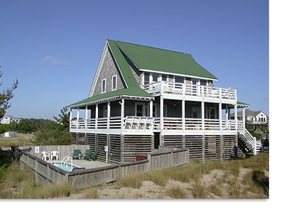 Corolla vacation rental