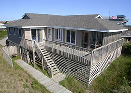 4 Bedroom Duck Oceanfront Rental