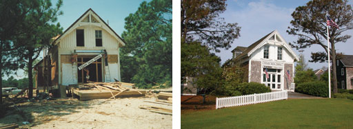 KDH Lifesaving Station Before and After