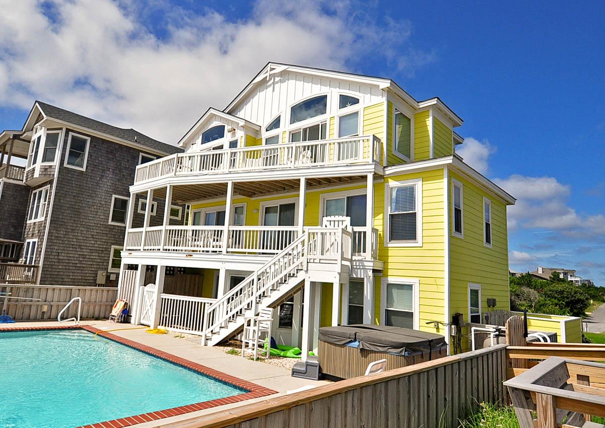 Mi casa su casa oceanfront home in snow geese dune duck - Mi casa su casa ...