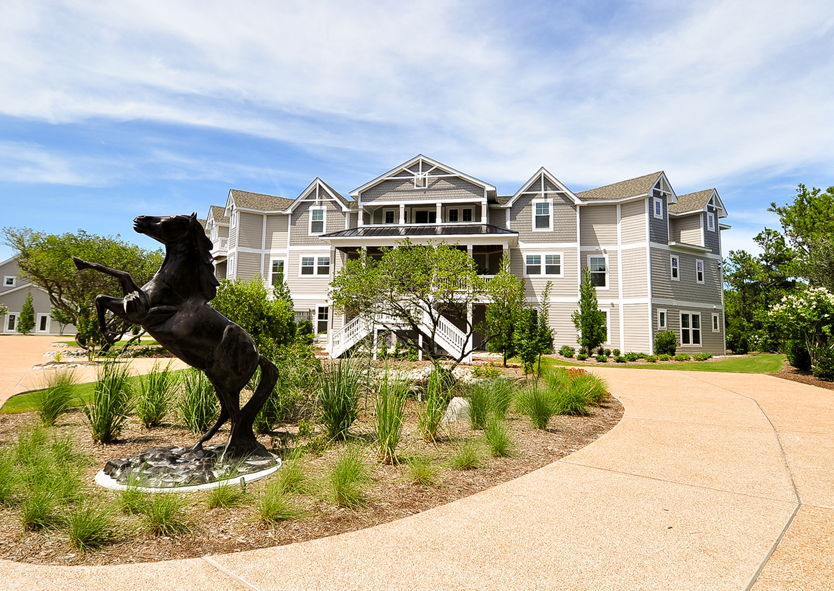 Corolla Beach Houses Part - 32: The Black Stallion Vacation Rental | Twiddy U0026 Company
