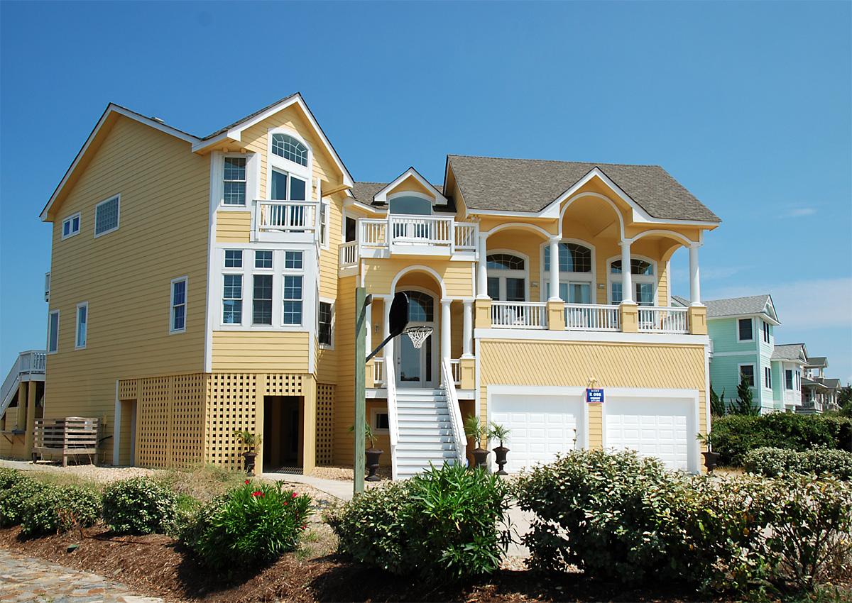 Corolla Nc Beach Rentals >> Front Row Vacation Rental   Twiddy & Company