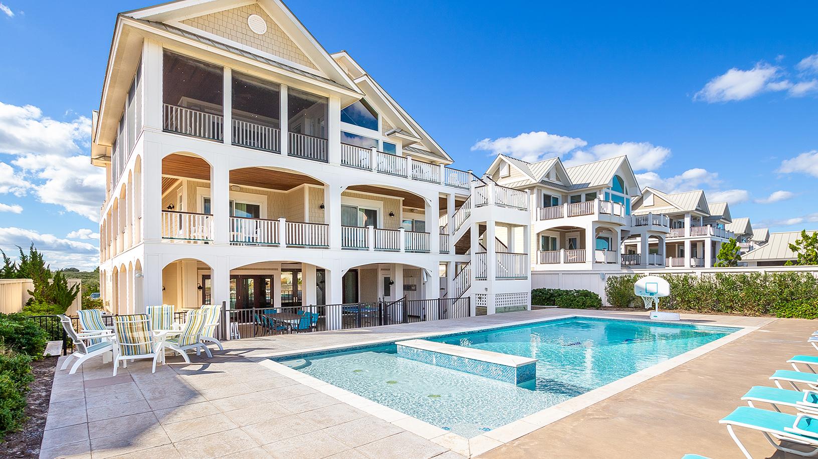 The Beach House Pine Island Corolla Nc