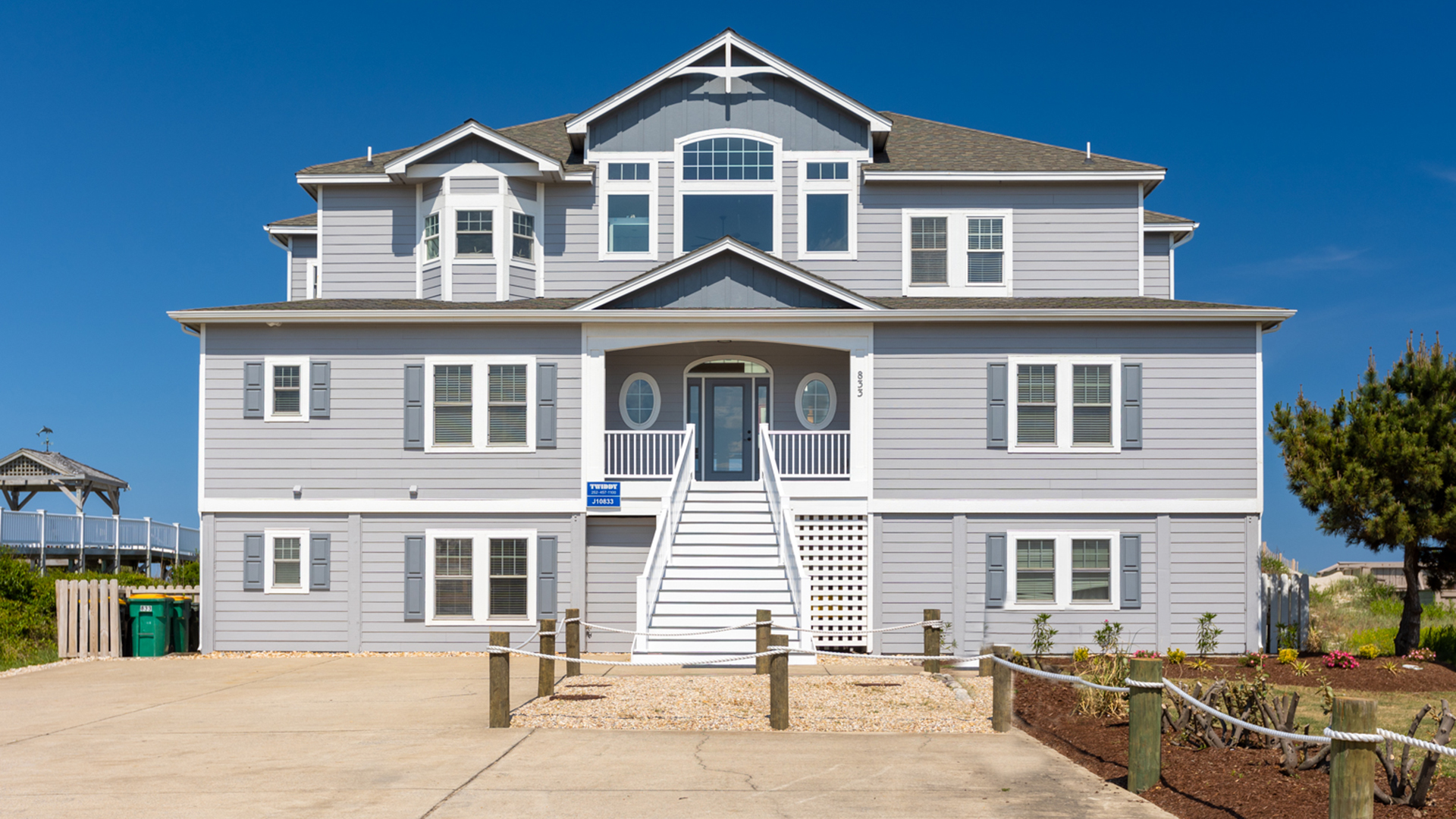 obx banks soundfront homes rentals vacation week per cottage outer