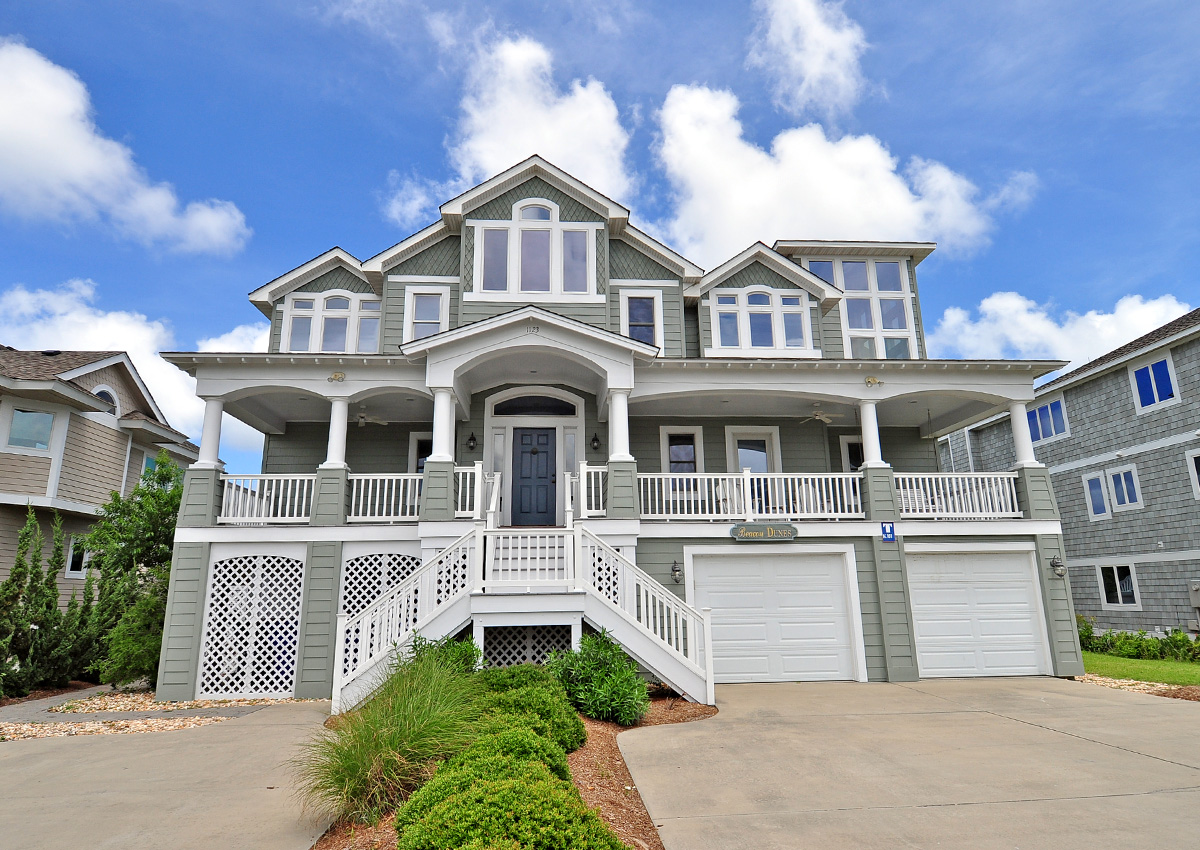 Attractive Corolla Beach Houses Part - 14: Beacon Dunes Vacation Rental | Twiddy U0026 Company