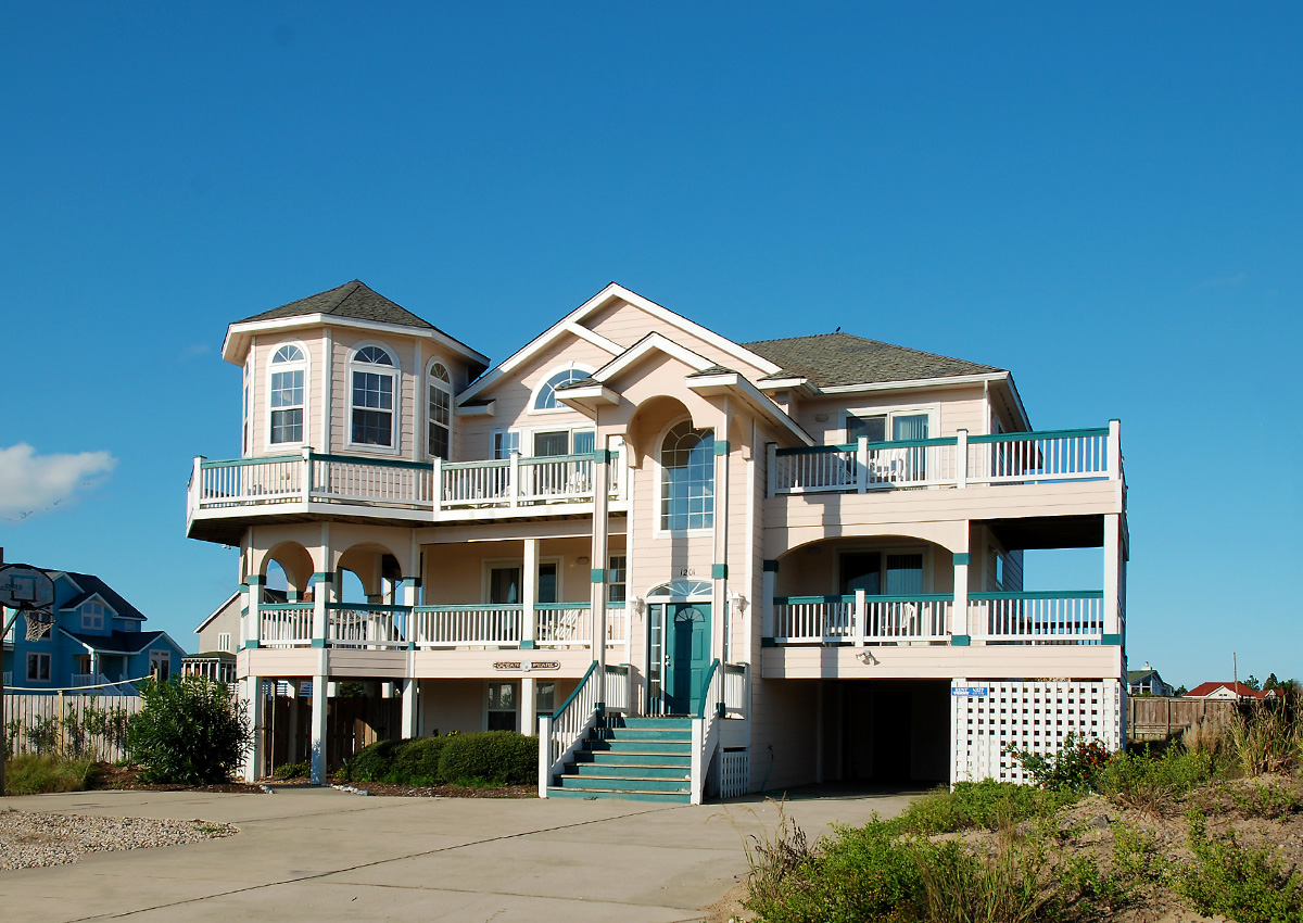 Outer Banks House Rental On Beach