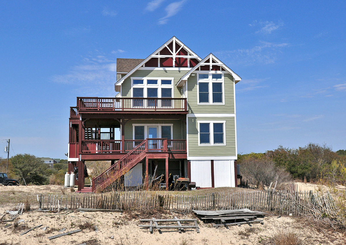 The dream catcher vacation rental twiddy company for Dream home rentals