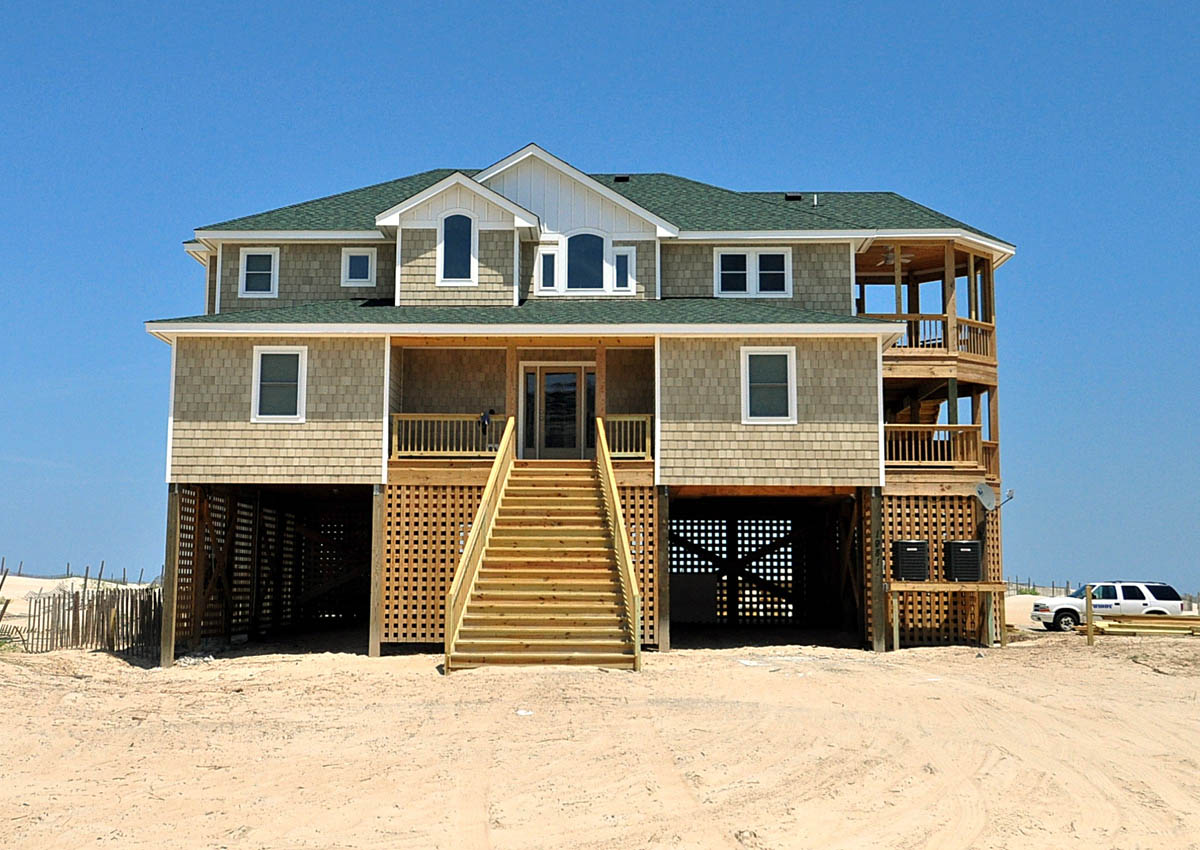 vacation in house banks homes nags beach rentals cape head outer cottage