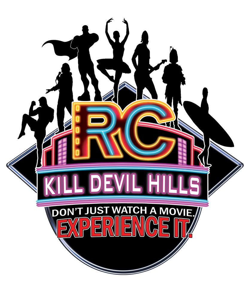 R/C Kill Devil Hills Movies 10 logo