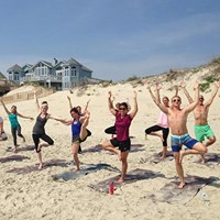 Outer Banks yoga