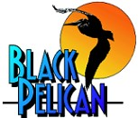 Black Pelican sign