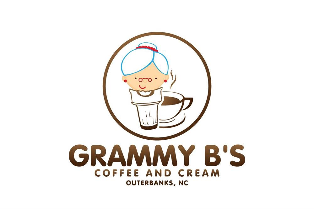 Grammy B's Coffee and Cream logo