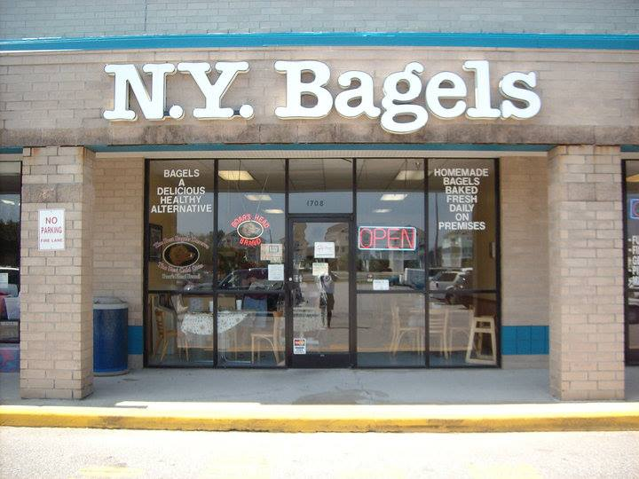 New York Bagels exterior