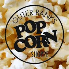 Outer Banks Popcorn Shoppe Duck location logo