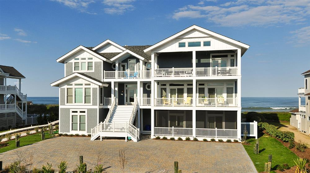 oceanfront vacation home